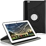 kwmobile Housse 360° pour Acer Iconia Tab 10 (A3-A20) étui avec support - housse de protection pour tablette avec fonction support en noir