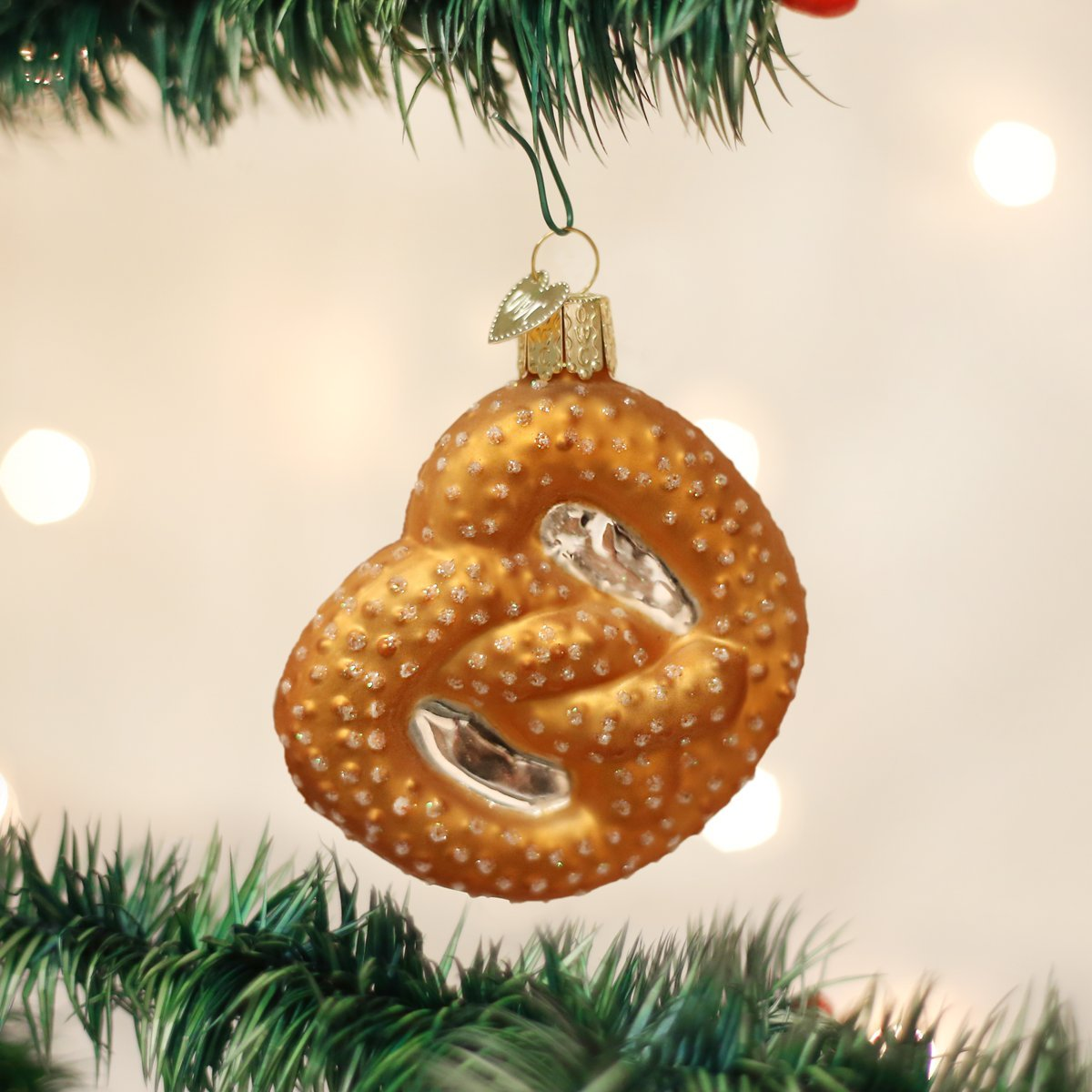 amazoncom old world christmas ornaments pretzel glass blown ornaments for christmas tree home kitchen
