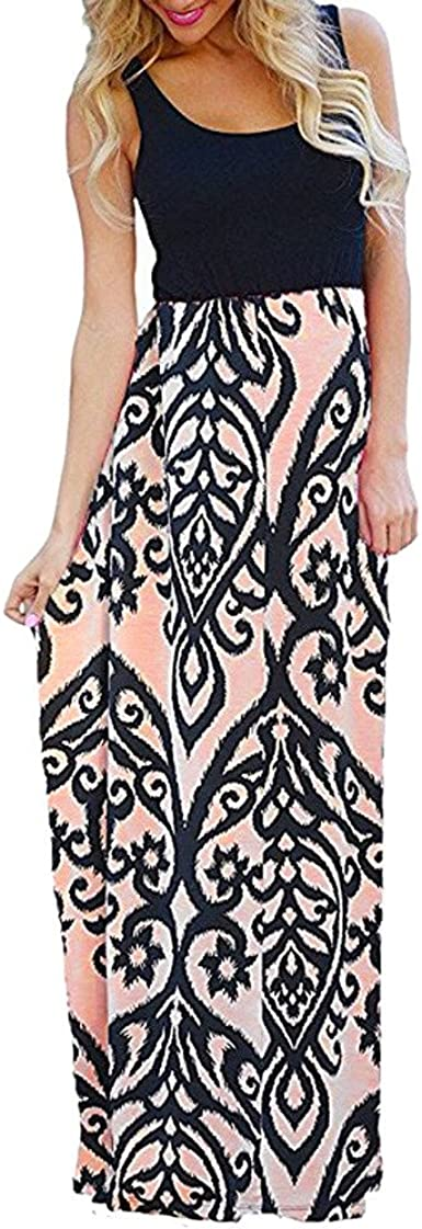 mujer Vestido Vestidos Largos Verano Verano Largo Maxi Falda ...