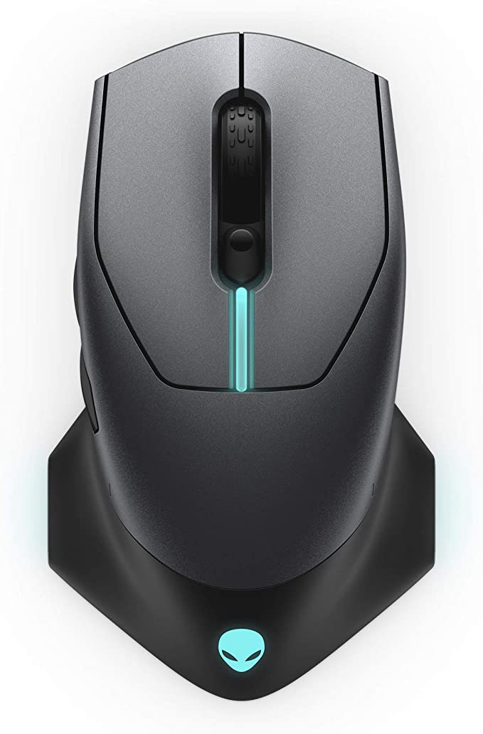 Alienware WiredWireless Gaming Mouse AW610M 16000 DPI Optical Sensor  350 Hour Rechargeable Battery Life  7 Buttons  3ZONE Alienfx RGB Lighting at Kapruka Online for specialGifts