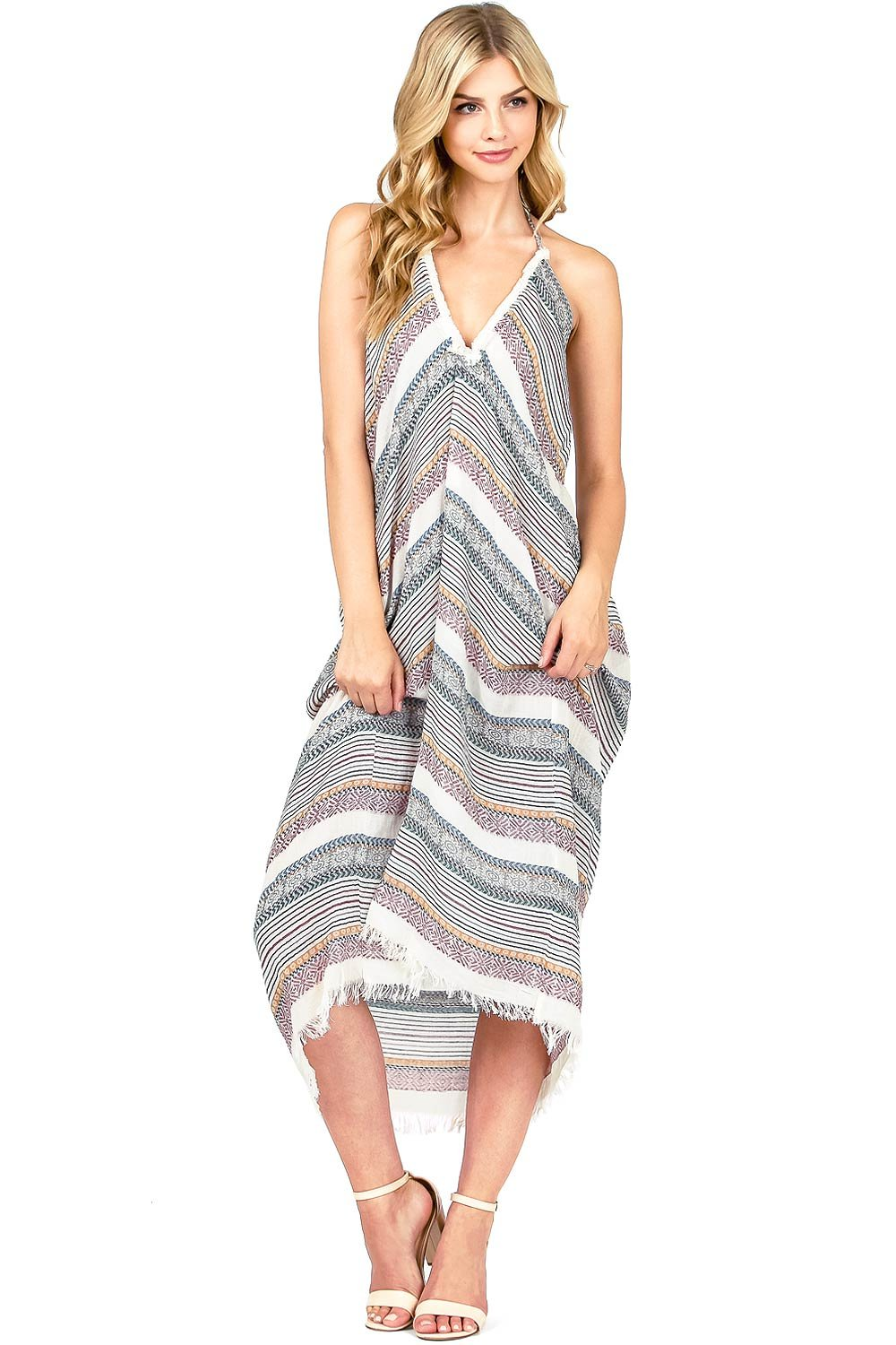 Love Stitch Women's Flowy Light Kinit Midi Dress (S/M, Wine)