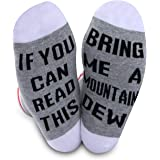 2 PAIRS Mountain Dew Lover Gift If You Can Read This Bring Me A Mountain Dew Drink Gift Novelty Socks For Men Women