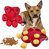 iMichelle Dog Food Treat Puzzle Toy Slow Feeder Bowl, Treat Dispensing Interactive Game Puzzle Training Finder Toys For Prevent Boredom/Bloating / Upset/Diarrhea