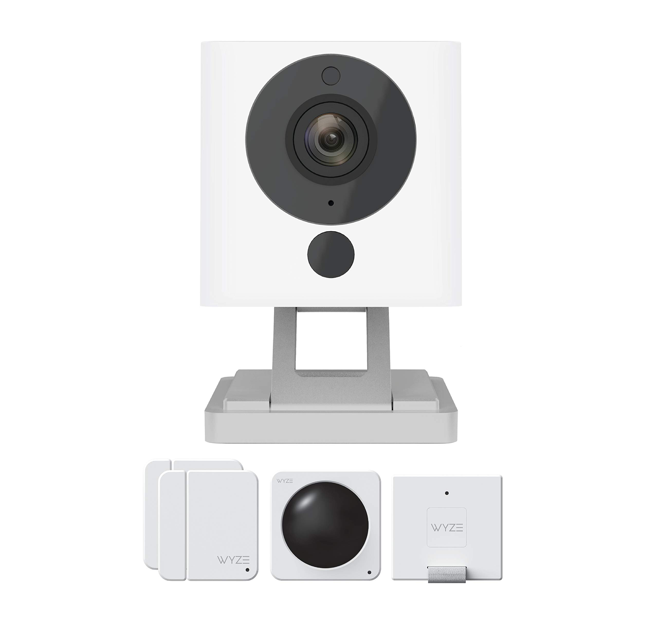 Wyze Cam V2 1080P Indoor Smart Home Camera with Wyze Sense Starter Kit by Wyze Labs