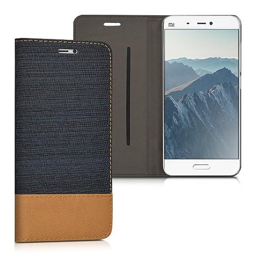 2 opinioni per kwmobile Cover Flip per Xiaomi MI5- Custodia a libro protettiva per cellulare in