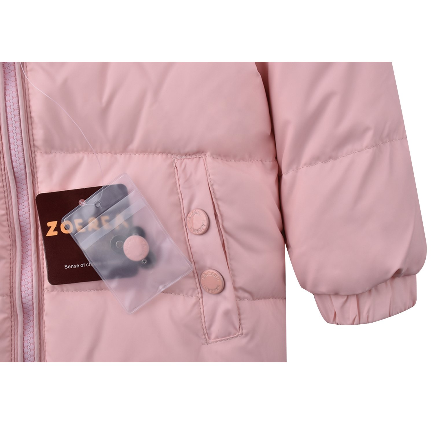 Trousers Snowsuit Warm Clothes ZOEREA Girls Winter Snowsuit Newest Children Girls Clothing Sets Winter Hooded Duck Down Jacket