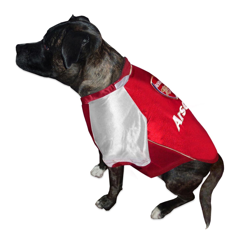 size 40 2d41c 022ed Arsenal F.C. Dog Shirt Large: Amazon.co.uk: Sports & Outdoors