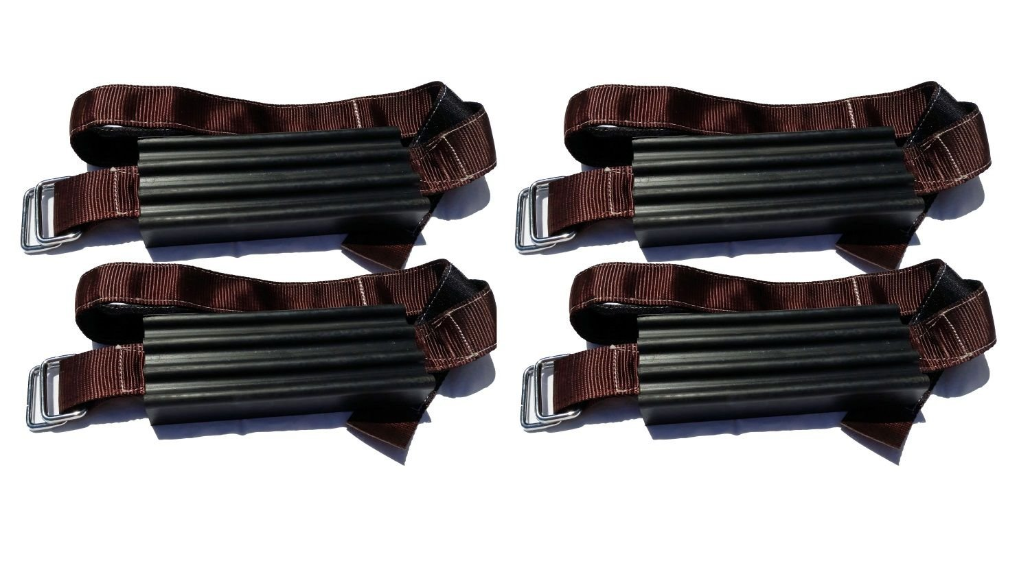 Easy Install Blocks Strap To Vehicle Tires TGOT01 Set of 2 A Chain // Snow Tire Alternative That Helps You Get Unstuck Trac-Grabber Mud and Sand Tire Traction Device for Oversize Trucks // SUVs Snow