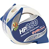 Duck HP260 Packing Tape With Dispenser, 1.88 Inch x 60 Yard, Clear, 1 Roll (393186)