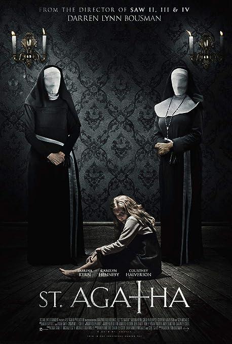 Lionbeen St. Agatha Movie Poster Cartel de la Pelicula 70 X ...