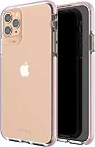GEAR4 Piccadilly Compatible with iPhone 11 Pro Max Case, Advanced Impact Protection with Integrated D3O Technology Phone Cover - Rose Gold