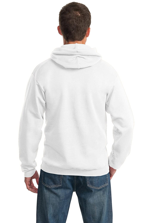 M White Port /& Company PC90H Pullover Hooded Sweatshirt