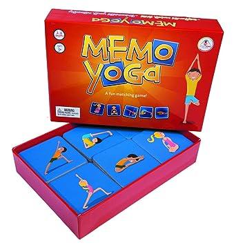 Memo Yoga Card Game by Upside Down Games: Amazon.es ...