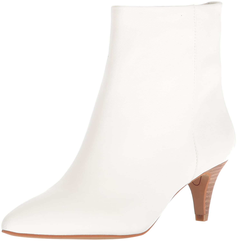 Dolce Vita Women's Deedee Ankle Boot B079Q9Z5CS 6.5 B(M) US Off White Leather