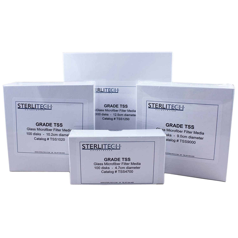 Tremont TSS7000 Grade TSS cut to 7.0cm diameter 100//pk Binderless glass microfiber for determination of total suspended solids I.W
