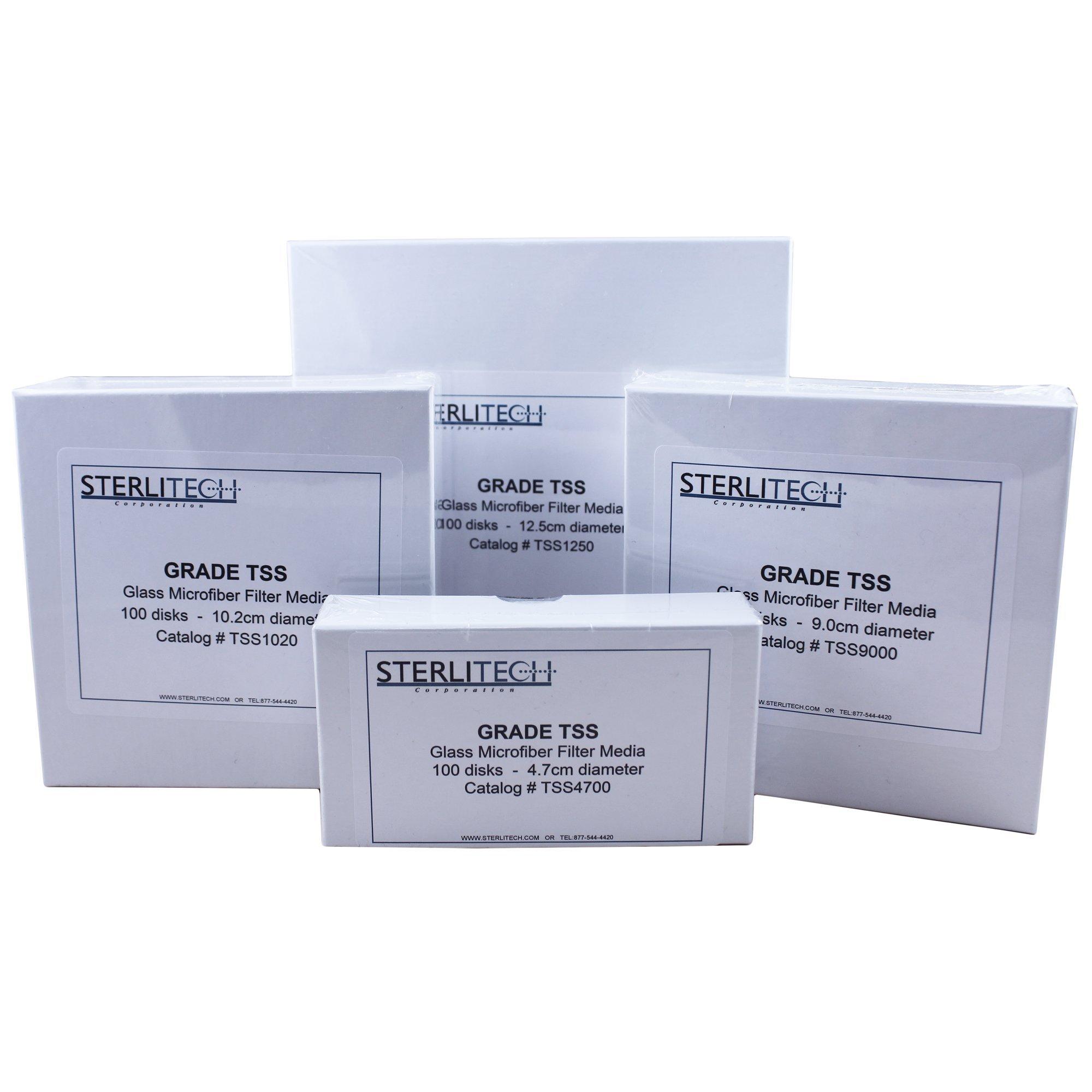 Grade TSS Borosilicate Glass Fiber Filter, 1.5um, 47 mm Diameter, 100/pk - TSS4700 by Sterlitech