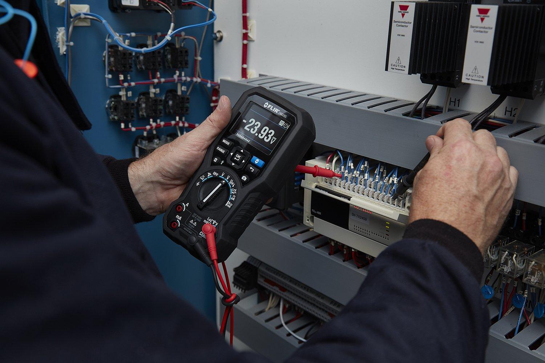 Flir dm285 de la Industria de multímetro con cámara térmica, - Registrador de datos, conectividad inalámbrica y IGM (infrarotgesteuerter messt Tecnología): ...