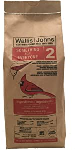 Certified Peanut Free Wild Bird Seed - Something for Everyone(2) Blend (6 lb)
