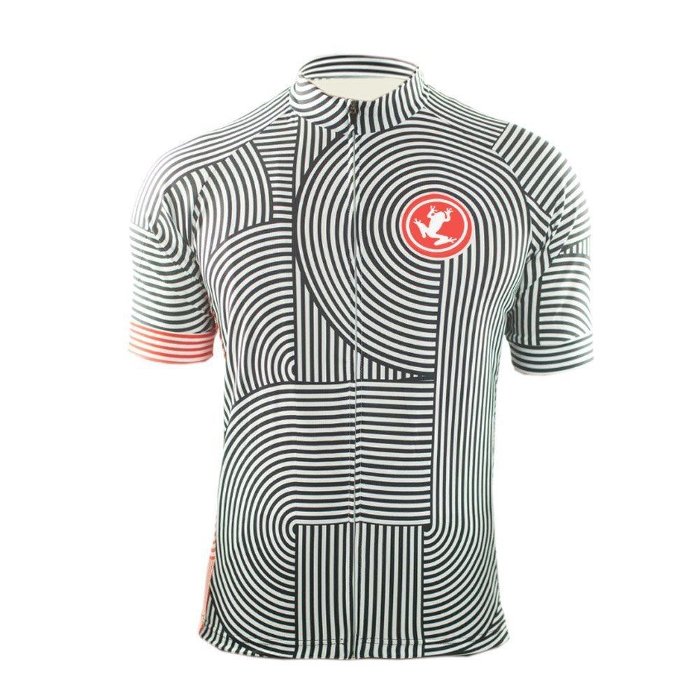 Uglyfrog 2016新作メンズアウトドアスポーツサイクリング半袖サイクルジャージ自転車シャツ自転車トップ夏ug3 B074Y6VBGW XL|カラー23 カラー23 XL