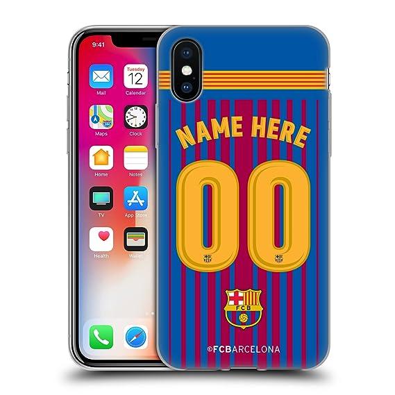 a713ca92737 Amazon.com  Custom Customized Personalized FC Barcelona Home 2017 18 ...
