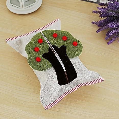 Portapañuelos de papel Caja de toalla de coser Creative coche de sala de estar encantadora con ...