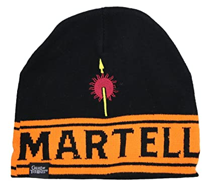 7f44a2fb332862 Image Unavailable. Image not available for. Color: Game of Thrones Martell  Beanie