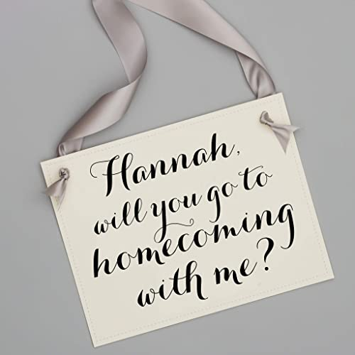 Amazon Com Personalized Will You Go To Homecoming With Me
