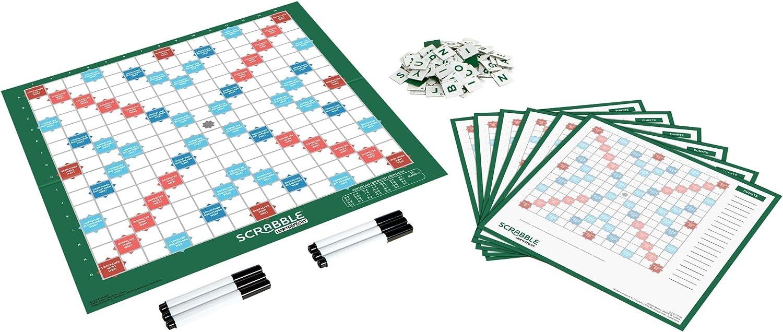 Mattel Games- Scrabble-Juego de Mesa Jugadores a Partir de 10 años. (GTJ27): Amazon.es: Juguetes y juegos