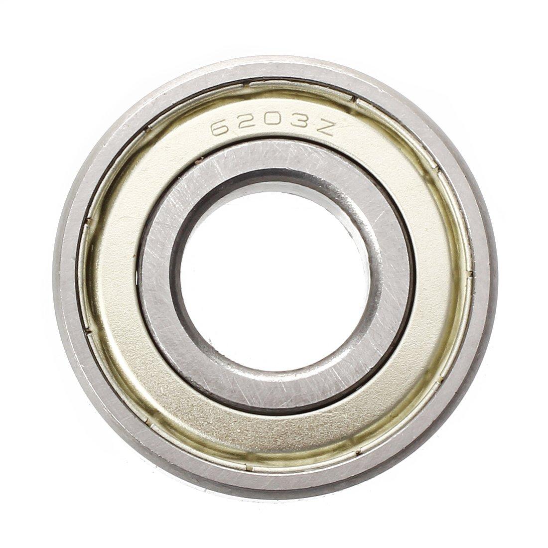 Globalflashdeal 6203Z gola profonda Doppia metallo cuscinetto a sfere