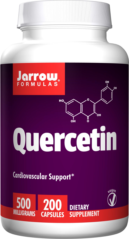 Jarrow Formulas: Quercetin 500 mg, 200 caps (2 pack)