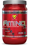 BSN Amino X Post Workout Muscle Recovery & Endurance Powder with 10 Grams of Amino Acids Per Serving, Flavor: Fruit Punch, 30 Servings