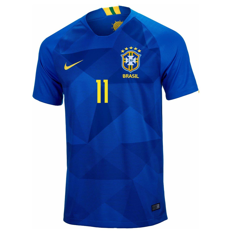 9b89b0b44 Amazon.com   Nike Coutinho  11 Brasil CBF Men s Soccer Jersey 2018 Stadium  Away World Cup 2018 (M)   Sports   Outdoors