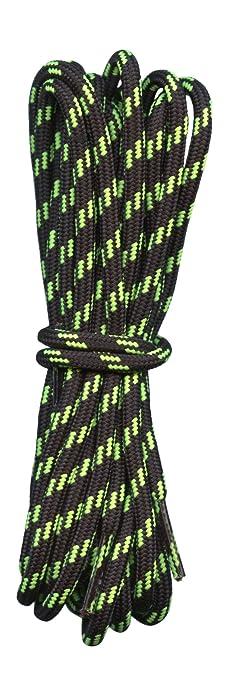 Lacci per scarpe montagna e trekking - Nero con neon Calce - 4 mm di  diametro -  Amazon.it  Scarpe e borse f864449f0bf