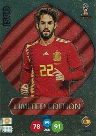 Adrenalyn XL Panini World Cup Rusia 2018 Isco Limited ...