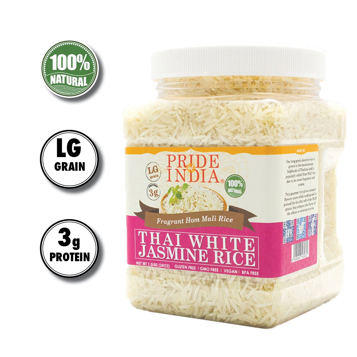 Amazon.com : India Gate Parboiled Basmati Rice Bag, Golden