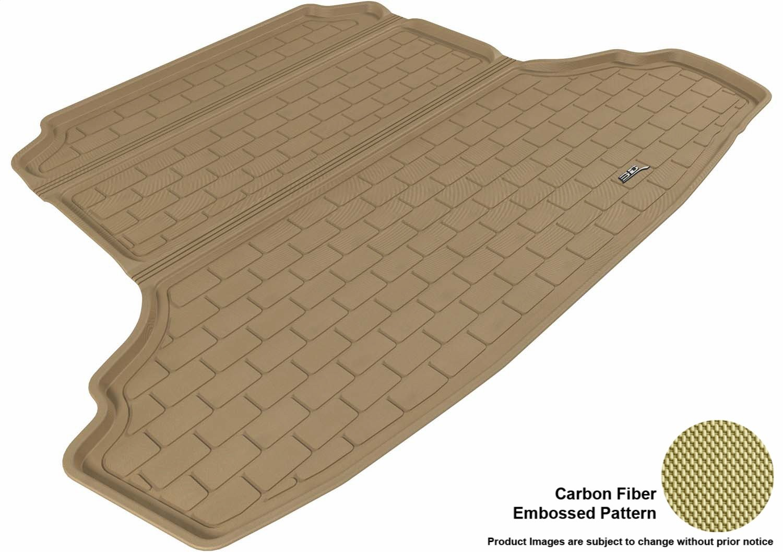 Black 3D MAXpider Second Row Custom Fit All-Weather Floor Mat for Select Nissan Maxima Models Kagu Rubber L1NS03021509