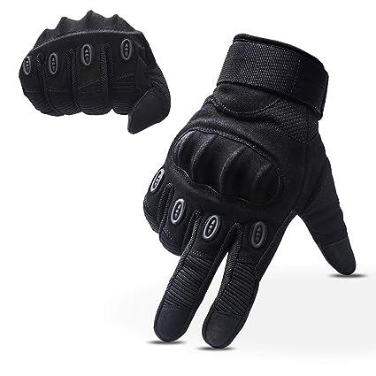 outlet on sale exquisite design classic fit OMGAI Plein Gants Finger Hommes Gants Tactiques Militaires Moto Sports de  Plein air Lumière