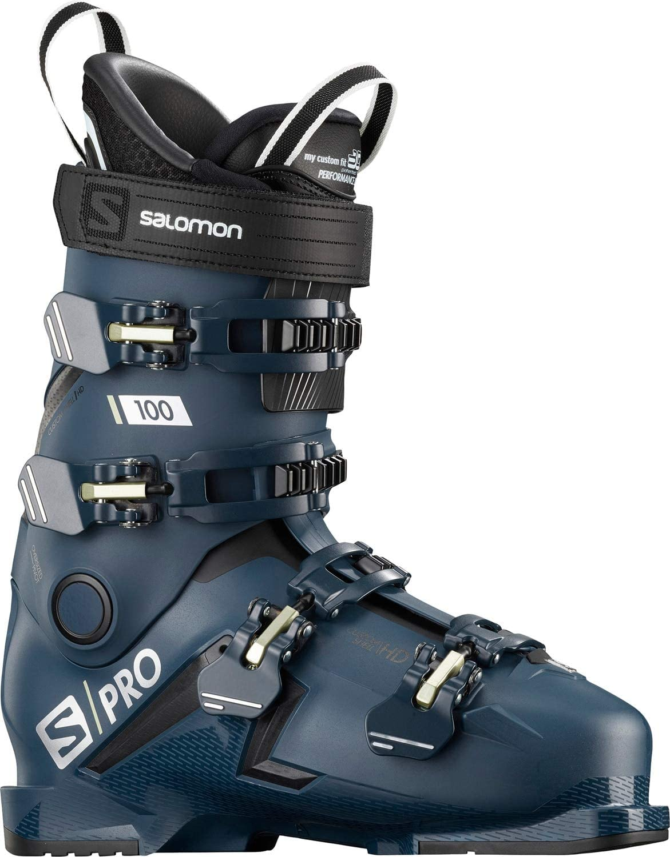 Salomon S/Pro 100 Mens Ski Boots Petrol