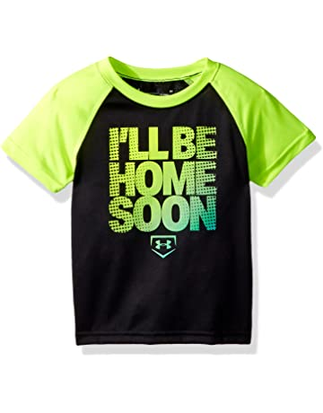 e257540ff27ca Under Armour Boys' Logo Raglan Tee Shirt
