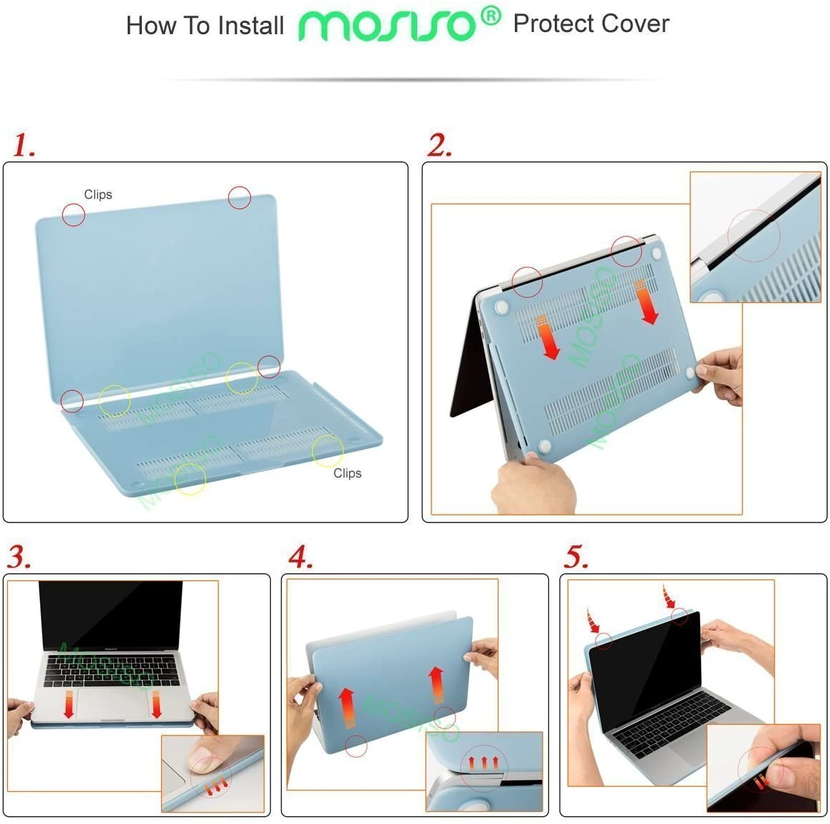 Plastic Hard Case /& Keyboard Cover /& Screen Protector Compatible with MacBook Pro 13 Lotus Clear Base MOSISO MacBook Pro 13 Case 2019 2018 2017 2016 Release A2159 A1989 A1706 A1708