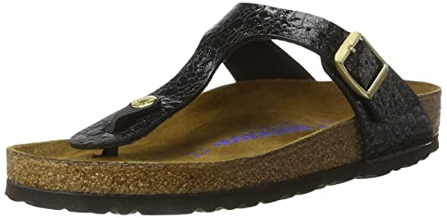 c2d6caedc75b Image Unavailable. Image not available for. Colour  Gizeh Birko-Flor Soft  Footbed Myda Night