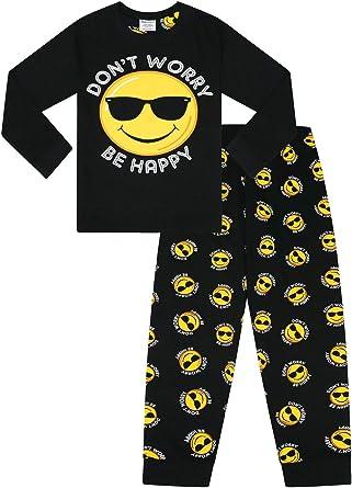 algod/ón Pijama corto para hombre Emoji
