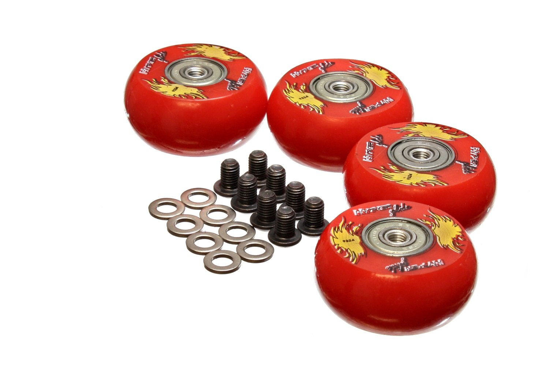 Energy Suspension 9.9169R 2''/50mm Creeper Wheel - Set of 4