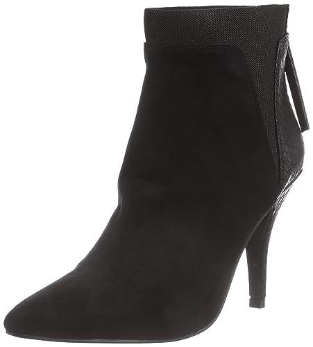 Schwarze Suède Look Classiques Femme La Strada Stiefeletten Bottes RBwy5Eq