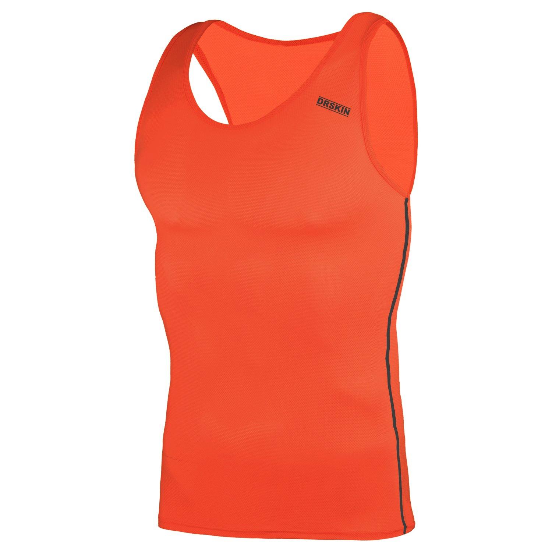 DRSKIN 1~3 Pack Undershirts Running Shirt Tank Tops