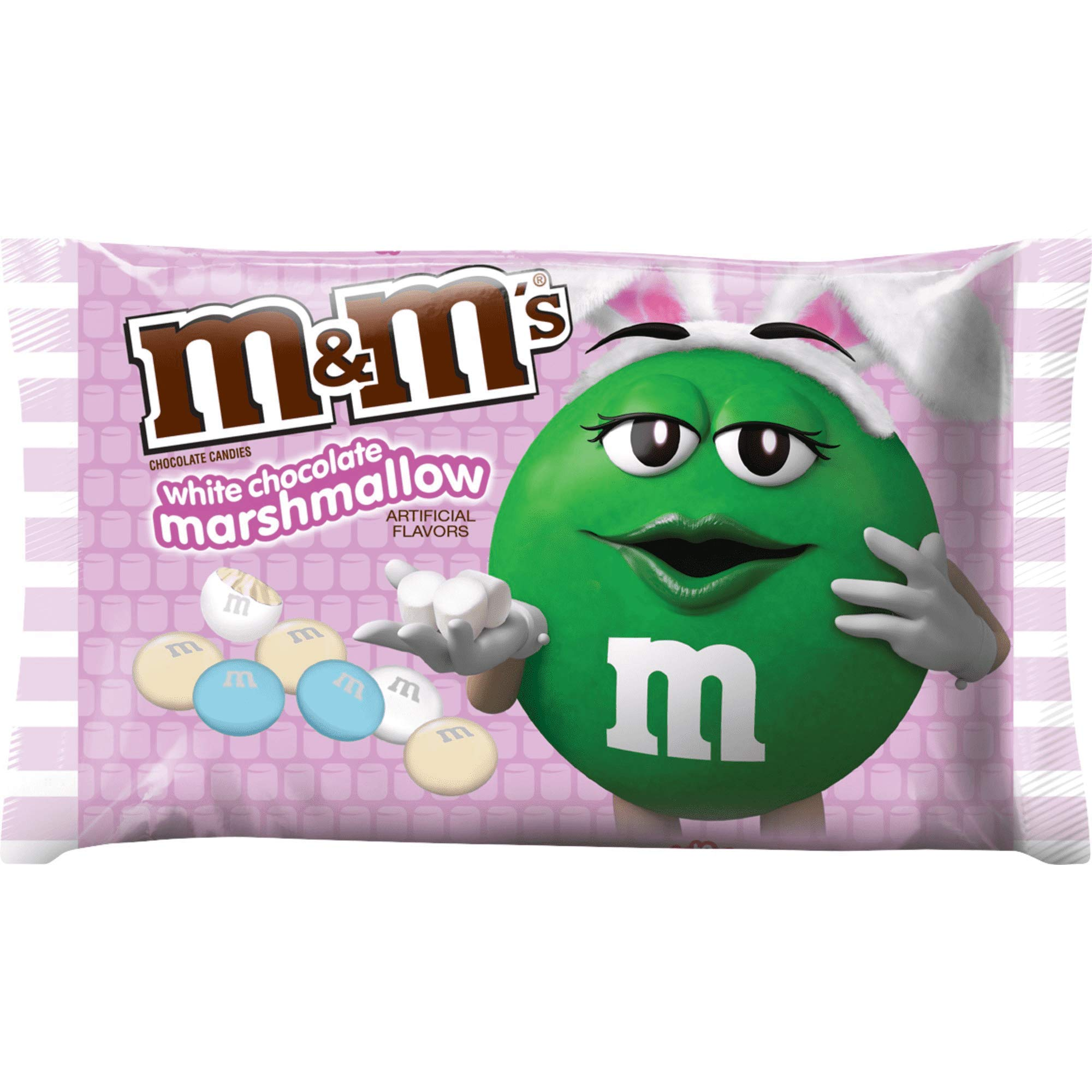 M & M's White Chocolate Marshmallow Candies 8 oz. Bag
