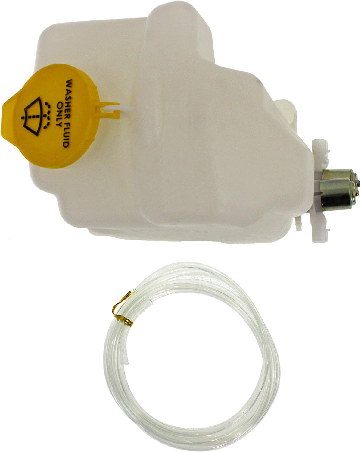 Garage-Pro Washer Reservoir for JEEP WRANGLER 2003-2006 Assembly with Dual Pump and Cap