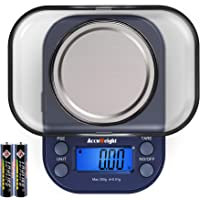 AccuWeight 255 Mini Digital Weight Scale for School Travel Jewelry Pocket Gram Scale 300g/0.01g with Tare and…