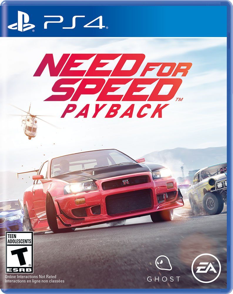 Need for Speed Payback - Pre Load-  PS4 [Digital Code]