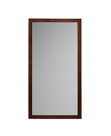RONBOW Alina 17u0027u0027 X 31u0027u0027 Solid Wood Frame Wall Decor Rectangle Bathroom